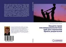 Bookcover of Защита прав несовершеннолетних при расторжении брака родителей