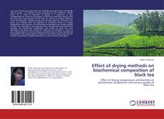 Couverture de Effect of drying methods on biochemical composition of black tea