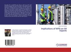 Buchcover von Implications of WTO on Oil Exports