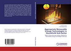 Portada del libro de Appropriate Renewable Energy Technologies in Household Sub-Sector