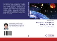 Обложка Translation of Scientific Hints in the Qur'an