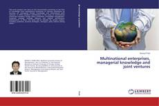 Bookcover of Multinational enterprises, managerial knowledge and joint ventures