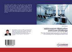 Buchcover von Achievement Motivation and Exam Challenge