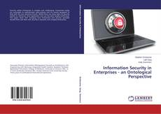 Couverture de Information Security in Enterprises - an Ontological Perspective
