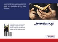 Духовный капитал в экономической науке kitap kapağı
