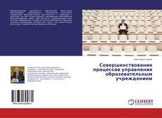 Совершенствование процессов управления образовательным учреждением kitap kapağı