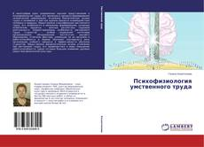 Психофизиология умственного труда kitap kapağı