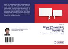 Portada del libro de Different Viewpoints in Prosthodontics and Implantology