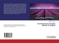 Bookcover of Contemporary Graphic Novels in English
