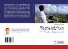 Portada del libro de Ekip power controllers, an energy efficiency solution