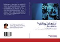 Bookcover of Tamil/Other Variety of Sri Lankan English speech communities