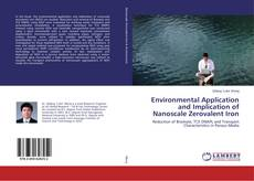 Capa do livro de Environmental Application and Implication of Nanoscale Zerovalent Iron