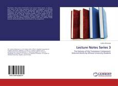 Lecture Notes Series 3的封面