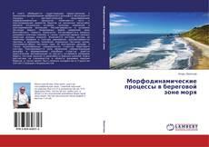 Морфодинамические процессы в береговой зоне моря kitap kapağı