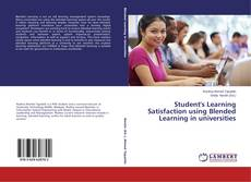 Обложка Student's Learning Satisfaction using Blended Learning in universities