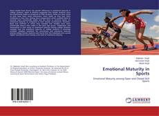 Couverture de Emotional Maturity in Sports