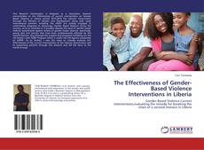 The Effectiveness of Gender-Based Violence Interventions in Liberia kitap kapağı