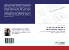 Capa do livro de Capital Structure & Profitability Analysis