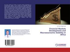 Capa do livro de Financial Markets Development and Macroeconomic Stability in Africa