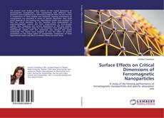 Capa do livro de Surface Effects on Critical Dimensions of Ferromagnetic Nanoparticles