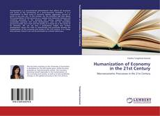 Buchcover von Humanization of Economy in the 21st Century