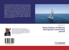 Couverture de Value System of Albania during post-communist period