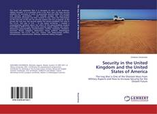 Capa do livro de Security in the United Kingdom and the United States of America