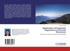 Couverture de Application of Pragmatic Vagueness in Financial Discourses