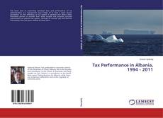 Buchcover von Tax Performance in Albania, 1994 - 2011