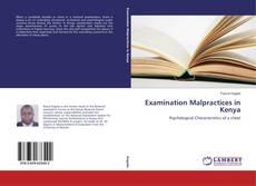 Buchcover von Examination Malpractices in Kenya