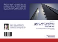 A study into the existence of an Urban Heat Island in Sheffield, UK kitap kapağı