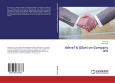Ashraf & Gilani on Company law的封面