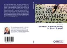 Couverture de The Art of Academic Writing in Sports Sciences