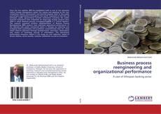 Copertina di Business process reengineering and organizational performance