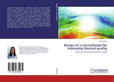 Portada del libro de Design of a microclimate for improving thermal quality