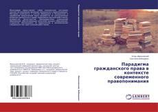 Bookcover of Парадигма гражданского права в контексте современного правопонимания