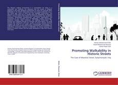 Copertina di Promoting Walkability in Historic Streets