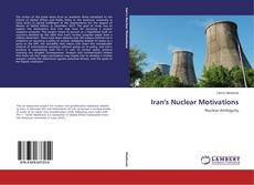 Buchcover von Iran's Nuclear Motivations