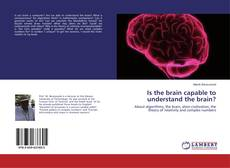 Is the brain capable to understand the brain? kitap kapağı