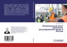 Bookcover of Региональный опыт правового регулирования труда в России