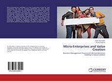 Bookcover of Micro-Enterprises and Value Creation