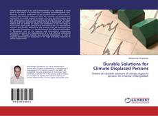 Bookcover of Durable Solutions for Climate Displaced Persons