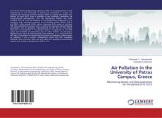 Bookcover of Air Pollution in the University of Patras Campus, Greece