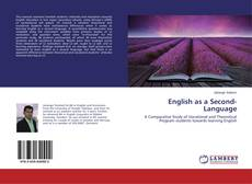 Bookcover of English as a Second-Language