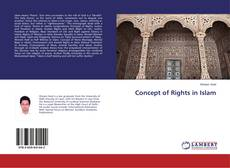 Buchcover von Concept of Rights in Islam