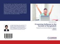 E-Learning Software in the Context of Bangladesh kitap kapağı