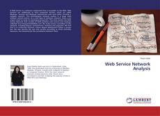 Copertina di Web Service Network Analysis