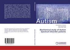 Capa do livro de Biochemical study of Autism Spectrum Disorder patients