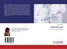 Bookcover of Intensive care