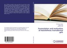 Обложка Formulation and evaluation of Aceclofenac transdermal gels
